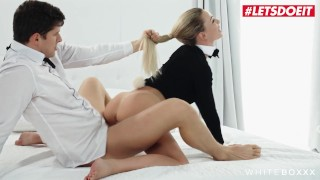 White Boxxx - Easter Bunny Girl Isabelle Deltore Tricked By Step Brother