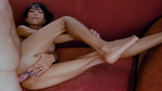 Ravena Rey Treats Cock With Feet Hands Mouth Pussy & Ass For Cumbath Facial