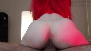 DADDY FUCKS A PETTIE TEEN WITH A RED HEAD. TEARS!!!